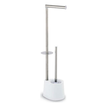 Toilet Paper Holder with Brush Stand Confortime
