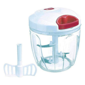 Manual Vegetable Chopper Quttin 900 ml White Red