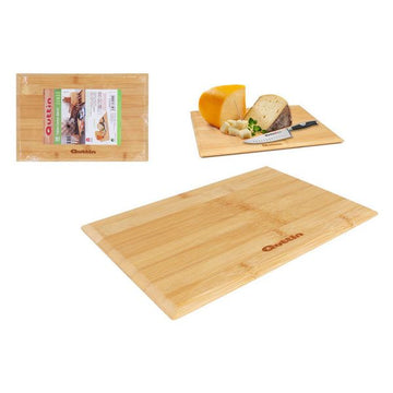 Chopping Board Quttin Bamboo Natural (24 x 16 x 1 cm)