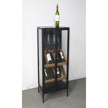 Bottle rack Painted iron (52 x 35 x 103 cm)
