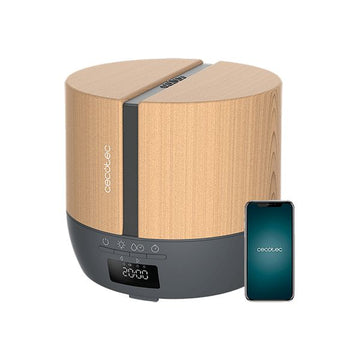 Humidifier PureAroma 550 Connected Grey Woody Cecotec (500 ml)