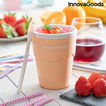 Cup for Making Ice Creams and Slushies with Recipes Frulsh InnovaGoods