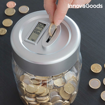 InnovaGoods Electronic Digital Money Box