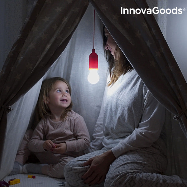 InnovaGoods Pull-Cord LED Bulb