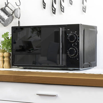 Cecomix All Black 1368 Microwave with Grill 20 L 700W Black