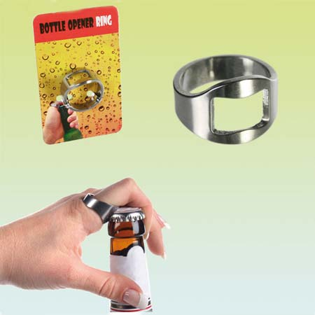 Metal Bottle Opener Ring