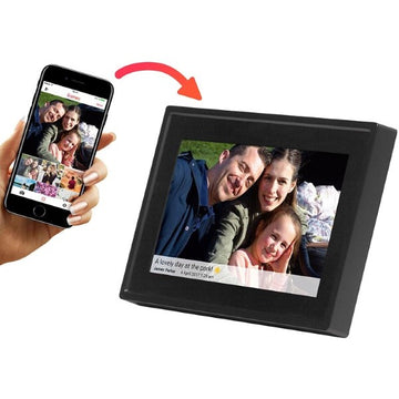 Digital photo frame Denver Electronics Black (15,6)