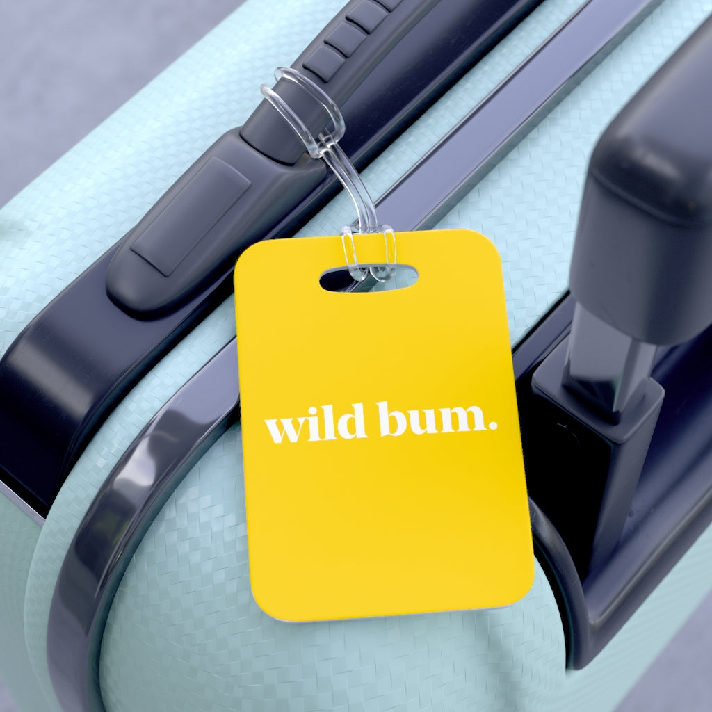 Wild Bum Bag Tag