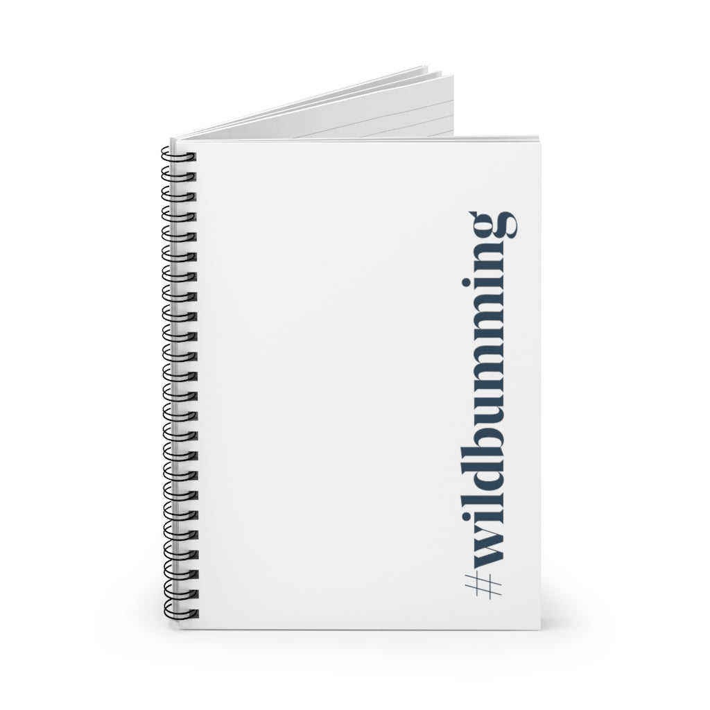 Wild Bum Spiral Notebook - Ruled Line