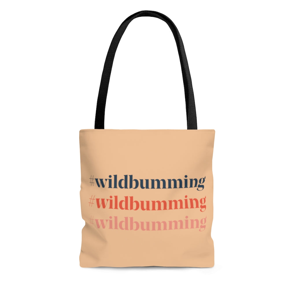 #wildbumming AOP Tote Bag