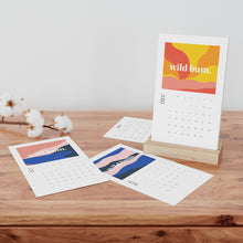 Load image into Gallery viewer, Wild Bum Vertical Desk Calendar