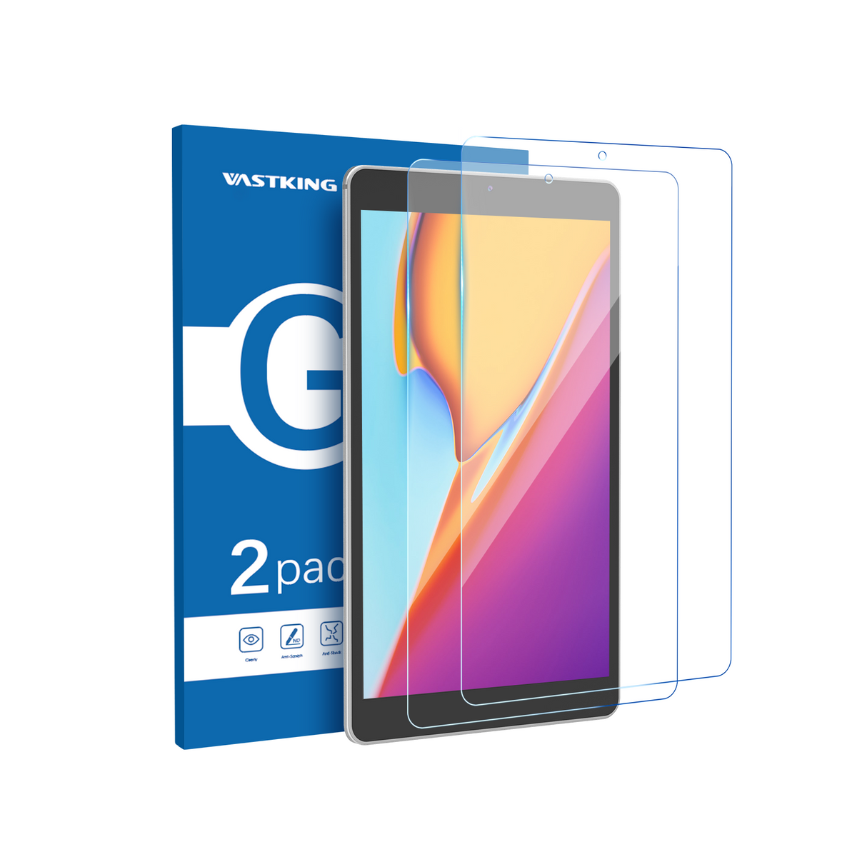 Kingpad SA10 Tablet Tempered Glass Screen Protector