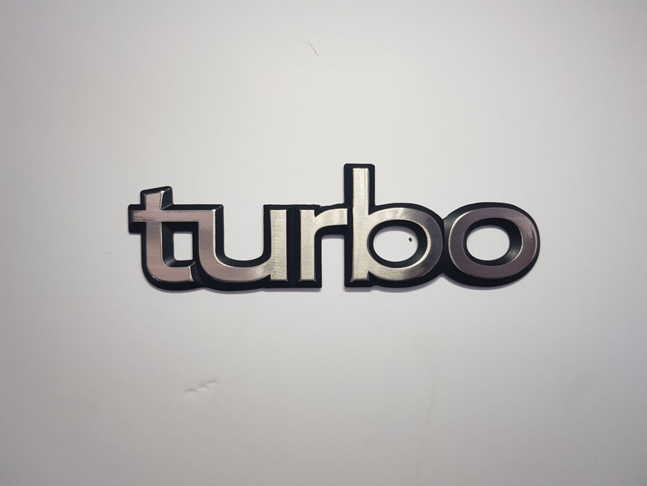 99/900 flat back 'turbo' badge