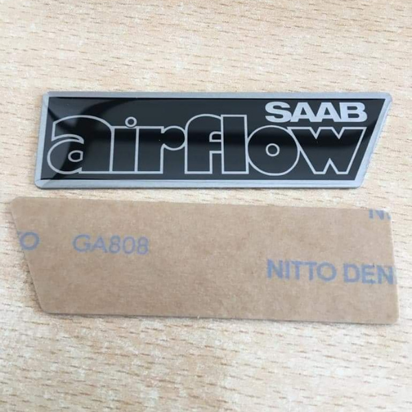 Saab airflow badges