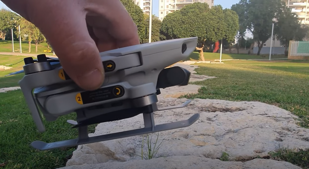 DJI Mini 2 Startrc Foldable Landing Gear Review