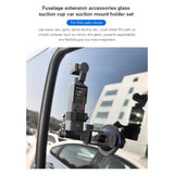 STARTRC Car Suction Cup Mount Holder Expansion Parts For FIMI PALM Handheld Camera Accessories Stand Bracket