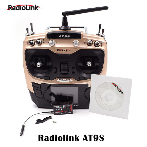 Remote Controller Radiolink AT9S 9 CH RC Transmitter With R9DS 9 Channel Receive For RC Quadcopte Car Boat