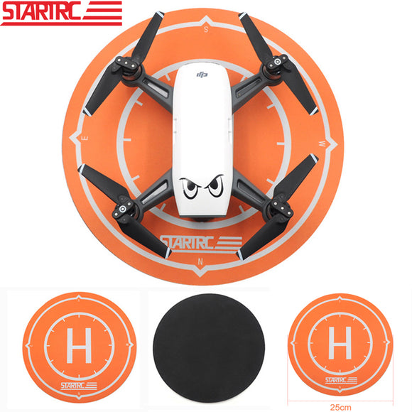 STARTRC DJI mavic air Spark Luminous Function Parking Aporn Foldable Landing Pad 25CM For DJI Mavic Air Spark Drone landing pad