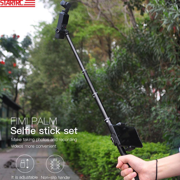 STARTRC FIMI PALM handheld selfie stick kit Portable Grip With Phone Holder For FIMI PALM Handheld Gimbal Camera Accessories
