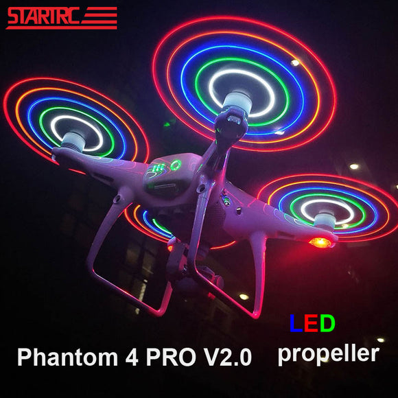 DJI Phantom 4 pro Low Noise Propellers LED Flash Propeller For DJI Phantom 4 Series/ Phantom 4 Pro v2.0 Drone