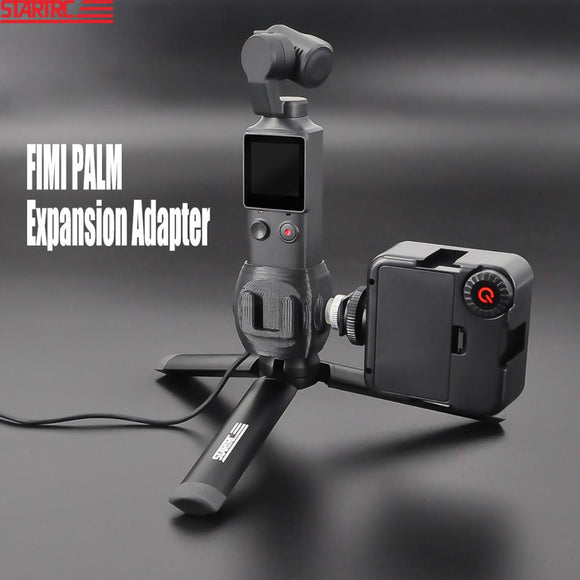STARTRC FIMI PALM Hot Shoe Mount Adapter 1/4 Screw Adapter Base With Tripod For FIMI PALM Handheld Expansion Accessories