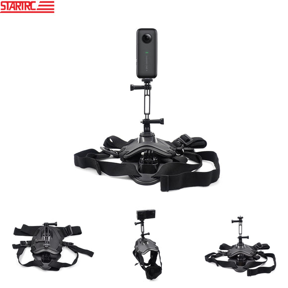STARTRC Insta360 Accessories kit Pet lanyard extension fixing bracket For Insta360 For osmo action For GoPro 5/6/7/8 Black