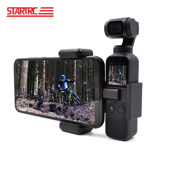 STARTRC DJI OSMO POCKET Phone Holder / Bracket mount Fixed Stand Mobile Holder For DJI OSMO Pocket Handheld Gimbal Accessories