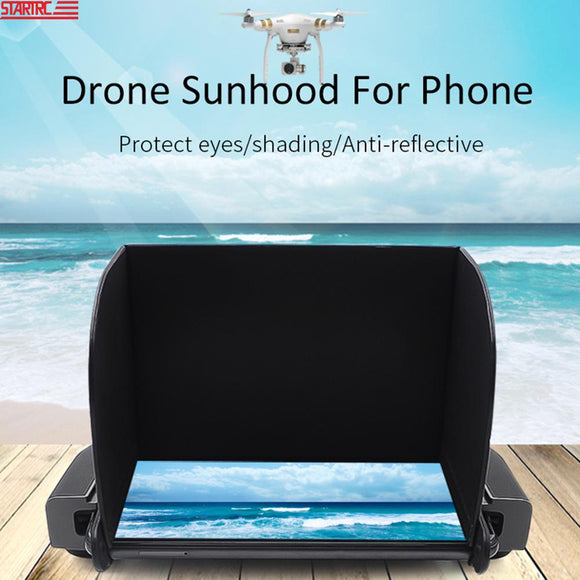 STARTRC Remote Control Sunshade / 4.7-5.5 inch Sun hood For Mavic Mini For DJI Drone Controller For FIMI X8 SE Drone Accessories