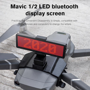 Mavic Pro / Mavic 2 LED Display Screen Kit Expansion Accessories Bluetooth control