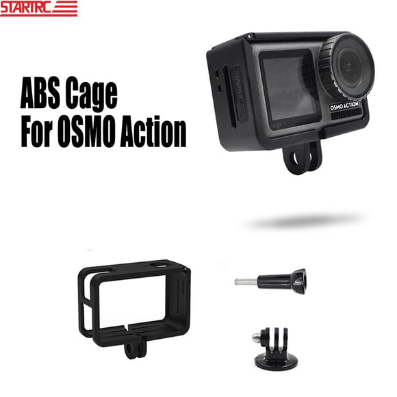 STARTRC Osmo Action Cage Frame Case ABS Material Housings Protective Cage Expansion Accessories For DJI OSMO Action Camera