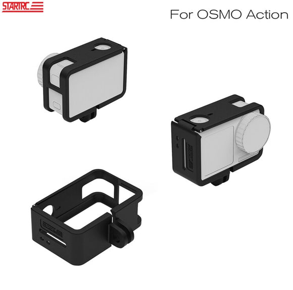 STARTRC OSMO Action Camera Frame Case Housing Border Protective Shell Cage for DJI OSMO Action Camera Expansion Accessories