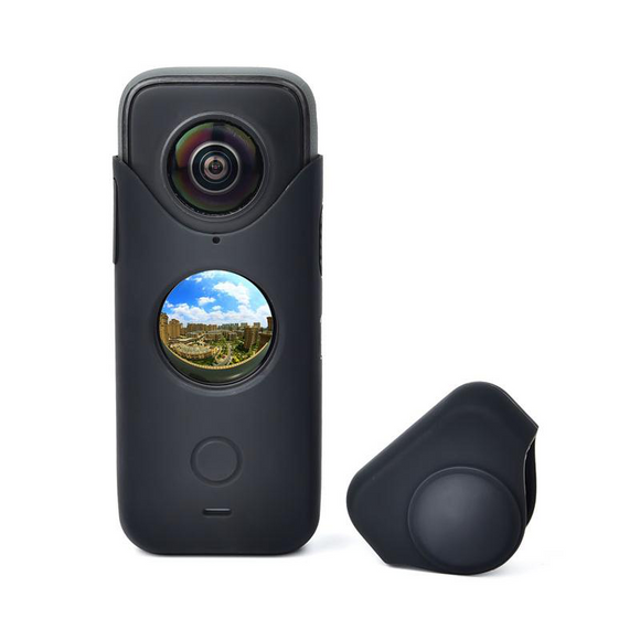 Insta360 one x2 Silicone Case Soft Cover Shell Dustproof Lens Cover Protector