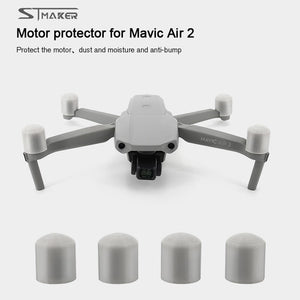STMAKER Mavic Air 2 Motor Dustproof Cover Engine Protective Cap Motor Cover Cap For DJI Mavic Air 2 Drone Motor Cover Accessory