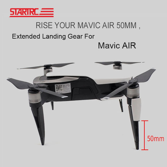 STARTRC Extended Landing Gear For DJI Mavic Air Leg Support Protector Extension Replacement Fit for DJI Mavic AIR Accessories