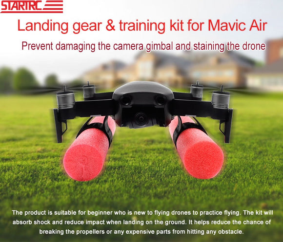 STARTRC DJI Mavic Air Extended Landing Gear training kit Can't Floating on the water For mavic air Accessories Free shipping