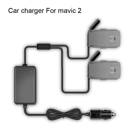 STARTRC DJI mavic 2 Pro Drone Car Charger Accessories With 2 Intelligent Battery Charging Ports Fast Charging Travel Transport