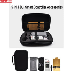 STARTRC 5 IN 1 DJI Smart Controller Accessories Carrying Case / Neck strap / signal booster / joystick box / Screen protector