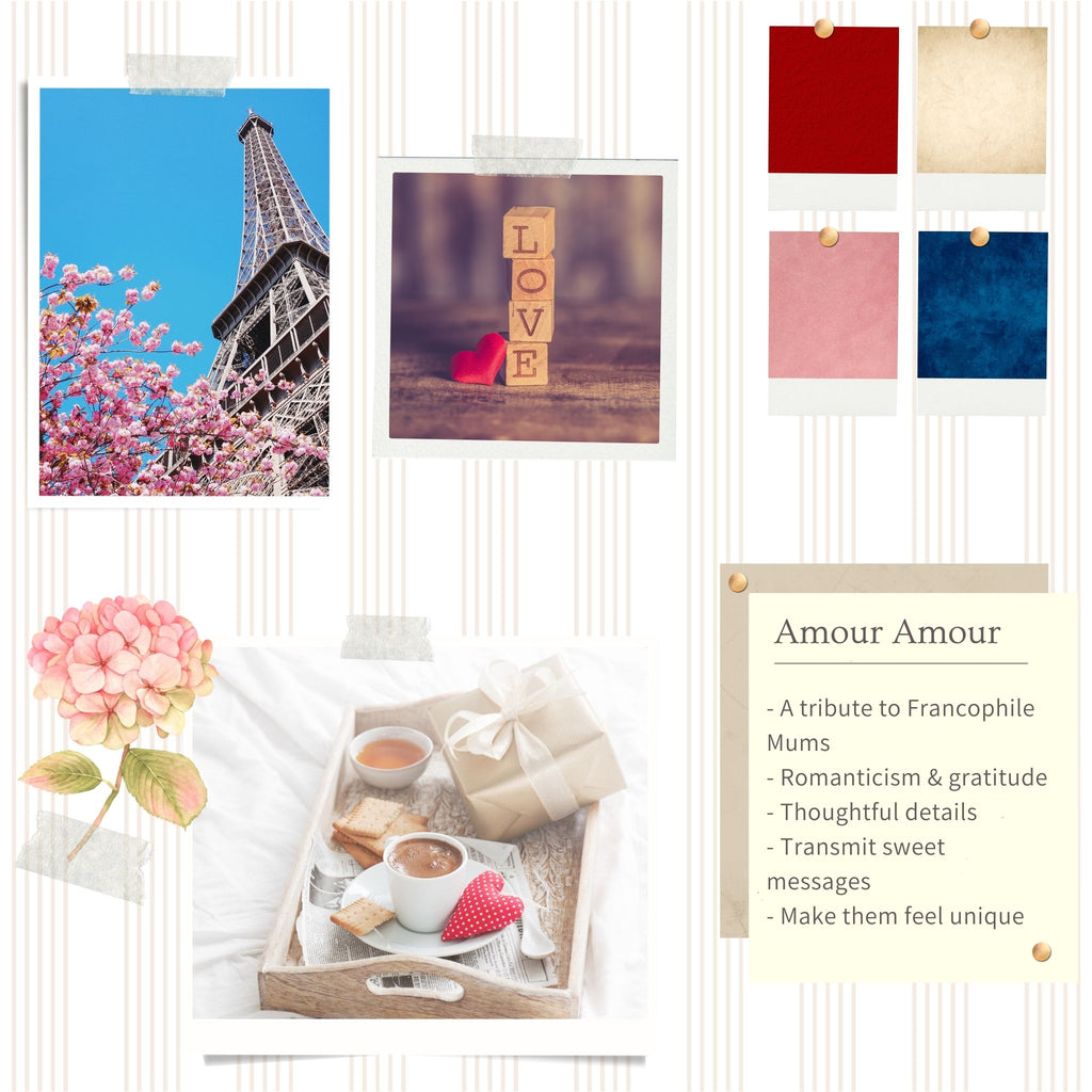 Amour Amour collection: the moodboard