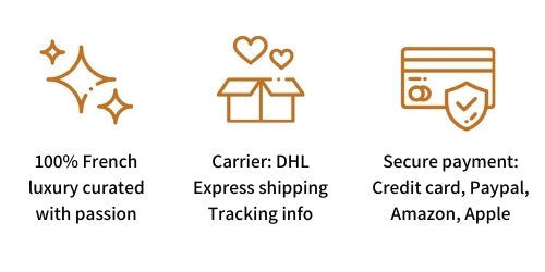 French Address secure payment, express shipping