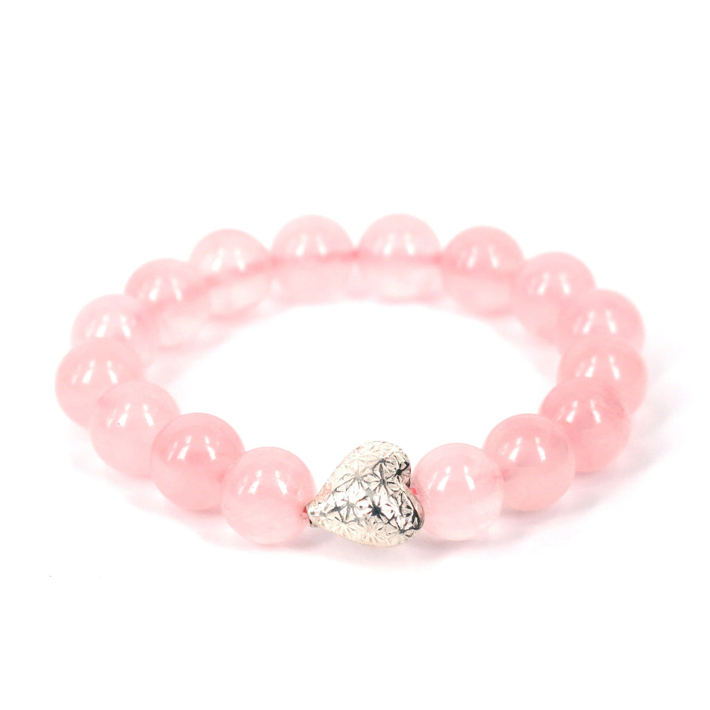 Rose Quartz Bracelet . Self Love