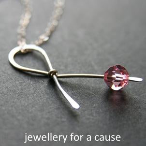 cancer awareness jewellery