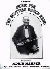 cover image for Addie Harper - Music For The Scottish Dance Band