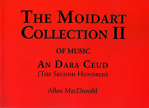 cover image for Allan MacDonald - The Moidart Collection vol 2 Of Music- An Dara Ceud