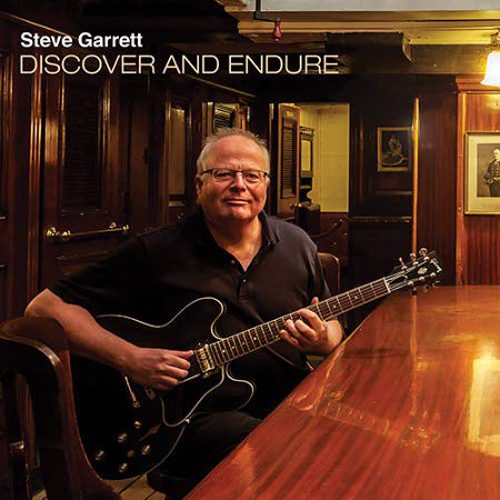 cover image for Steve Garrett - Discover And Endure