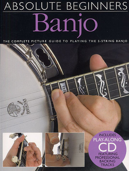 cover image for Absolute Beginners Banjo