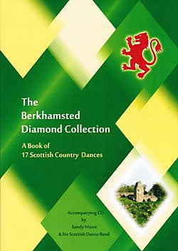 cover image for The Berkhamsted Diamond Collection - A Book Of 17 Scottish Country Dances