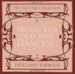cover image for Freeland Barbour - Music For Old Time Dancing vol 3