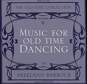 cover image for Freeland Barbour - Music For Old Time Dancing vol 6
