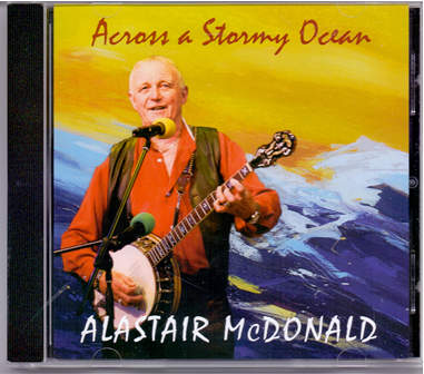 cover image for Alastair McDonald - Across A Stormy Ocean
