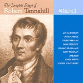 cover image for The Complete Songs Of Robert Tannahill vol 1